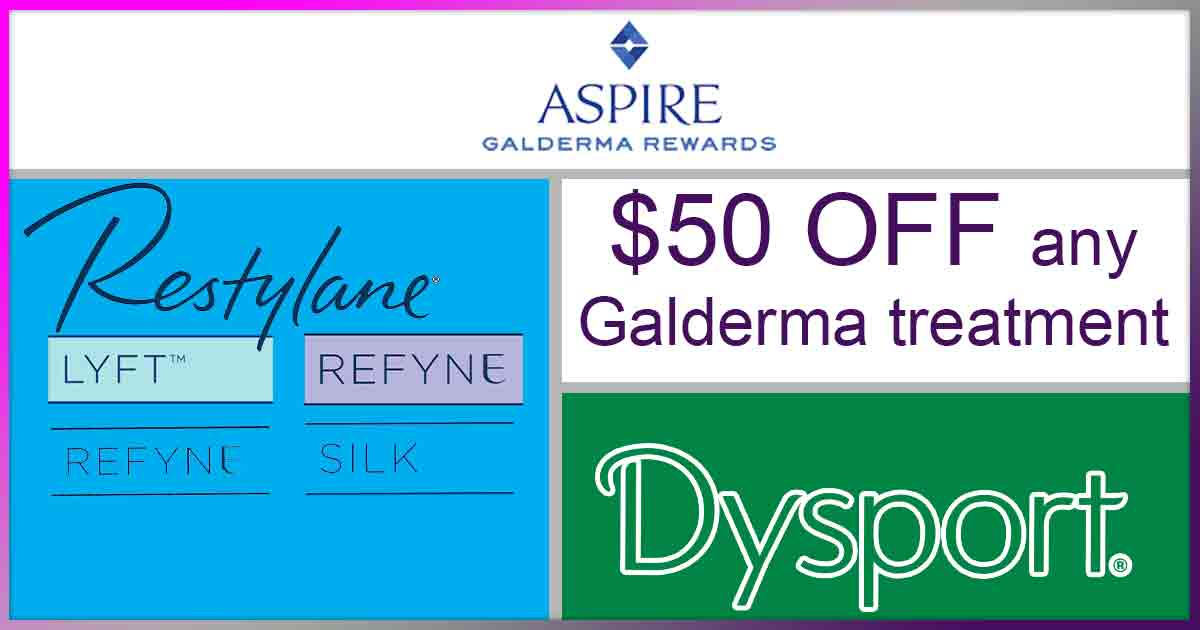 $50 off any Galderma treatment