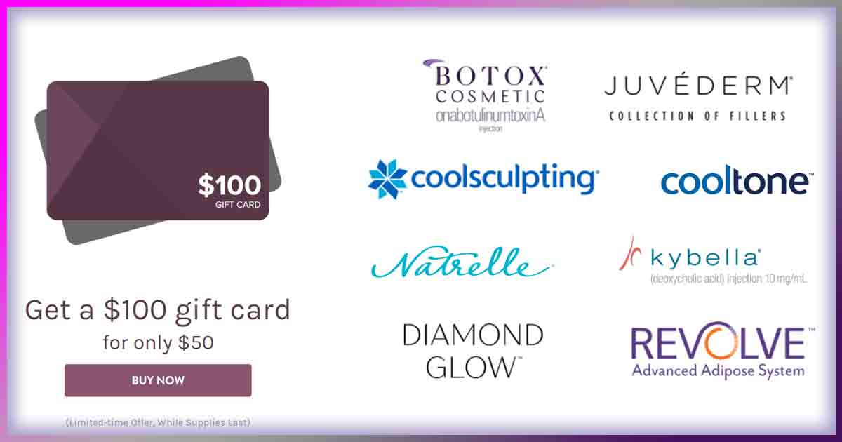 Brilliant Distinctions Gift Card Special $100 for $50
