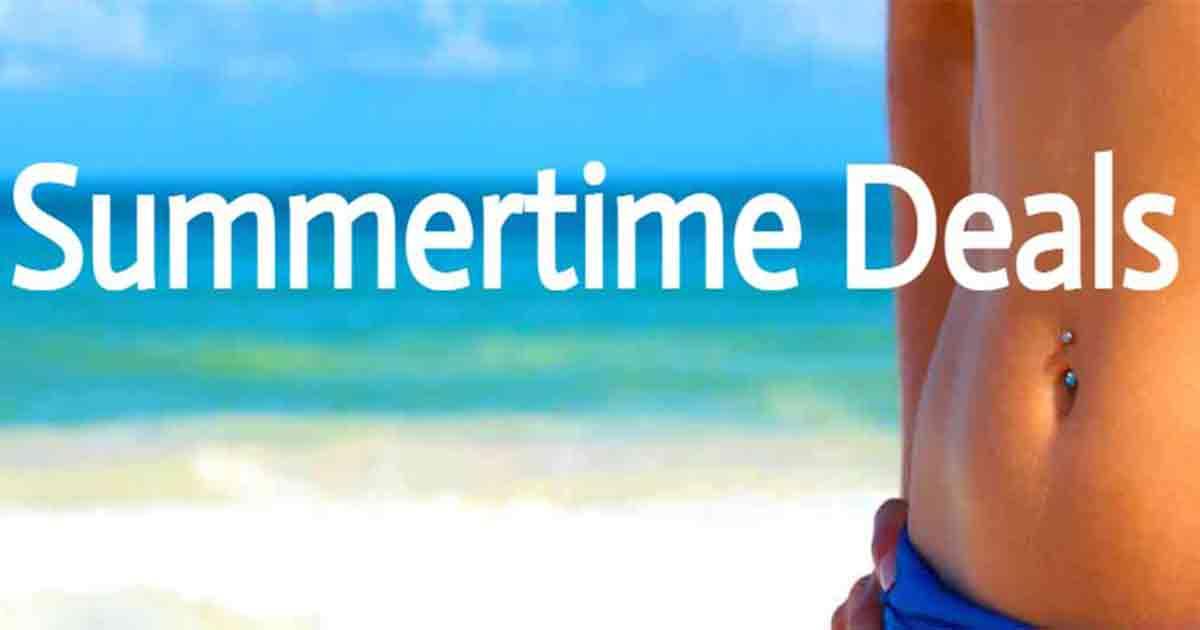 Summertime Deals 2021